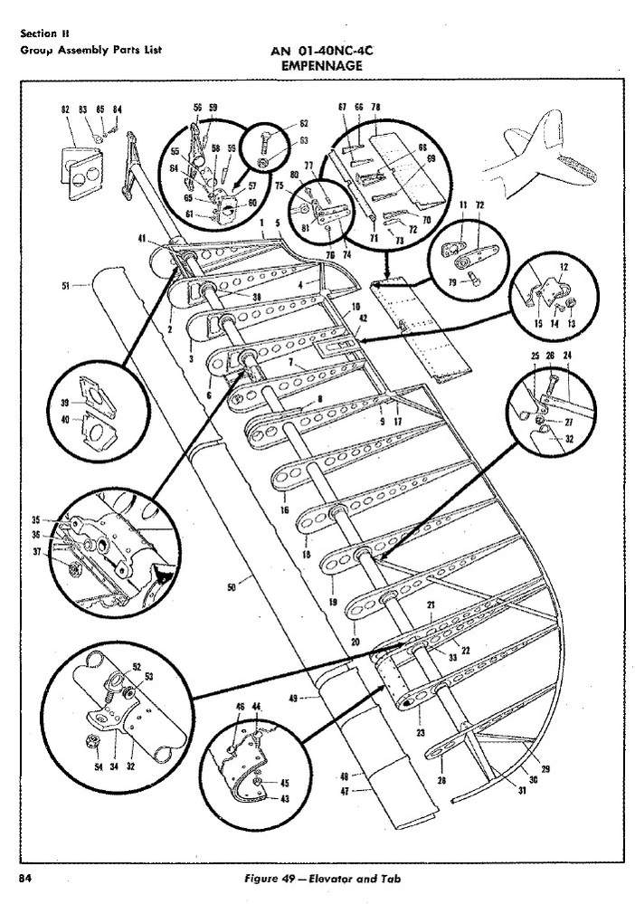 illustrated parts catalog for aircraft