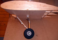 Name: CIMG3593.jpg Views: 724 Size: 90.6 KB Description: Here you see the landing gear as it will be under the wing. Don't forget: this part of the wing is only a mockup to prove the geometry. Of course part of it won't be seen later since it will be covered by the nancelle.