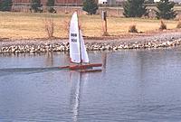 Name: Reaching.jpg Views: 79 Size: 24.7 KB Description: Jack's multi reaching in very  light wind