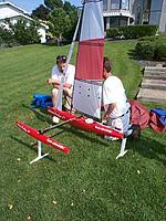 Name: On Shore Photo - relative size.JPG Views: 105 Size: 77.5 KB Description: On shore - length versus beam.