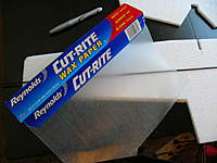 Name: P1070224.jpg Views: 165 Size: 32.7 KB Description: All glueing should be done on wax paper to keep plane from sticking to table