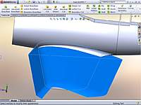 Name: Surface-Offset Wing Knit.jpg Views: 95 Size: 65.9 KB Description: Now you can use the knitted wing surface to Split the wing from the fuse, keeping the fillet with the fuse.