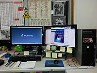 Name: 20150219_070747.jpg Views: 7 Size: 735.8 KB Description: And the view from my chair, with Pandora all revved up and ready to ROCK.
