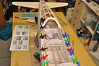 Name: DSC_0090 (Medium).jpg Views: 84 Size: 73.8 KB Description: There is something exciting seeing the fuselage taking shape in it's skeletal infancy.