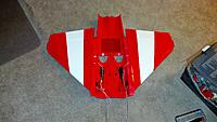 Name: 2012-08-31_18-21-23_387.jpg Views: 95 Size: 157.8 KB Description: The wings glued onto the bottom fuselage.