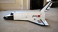 Name: f23943aacbeff04fdac6886a8c9c2490.jpg Views: 6 Size: 758.8 KB Description: Completed Buran Version with simplified rear end.
