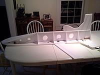 Name: WP_000108.jpg Views: 102 Size: 127.2 KB Description: Wing attached along with all electronics, and the reinforcing strips at the top and bottom.