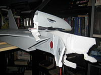 Name: 0301 F15 - Shiro Ruyu.jpg Views: 221 Size: 158.0 KB Description: What's left of the original nose