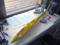 Name: avocado_runko.jpg Views: 316 Size: 74.7 KB Description: The Avocado, fuselage