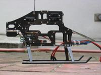 Name: IMG_2897.jpg Views: 483 Size: 55.7 KB Description: The frame was easy to work on. Everything was accessible on the finished frame including servo mounting.