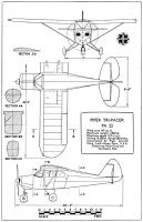 Piper Pa 22 Drawings Related Keywords & Suggestions - Piper