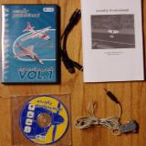 The complete kit contents, including add-on #1, Y-cable, instruction manual, installation CD, and interface-cable.