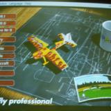 The main menu of Aerofly Pro