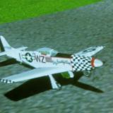 The Glorious P-51D Mustang before takeoff
