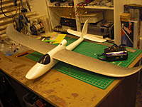 Name: Sky Surfer with EZstar Wing#1.jpg Views: 160 Size: 80.1 KB Description: SkyS with Silver EZ* wing