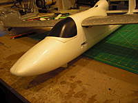 Name: Sky Surfer with EZstar Wing#2.jpg Views: 173 Size: 63.8 KB Description: Close up of EZ* wing and SkyS fuselage