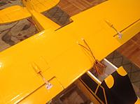 Name: image-9bc26fbe.jpg Views: 99 Size: 611.5 KB Description: The underside of the wing. Had servo covers from Hobbyking (added to a shipment to meet weight;kept in spare parts bin) that fit perfectly over the 9 gm servos imbedded in the wings.