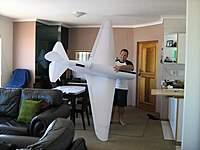 Name: IMG_2487.jpg Views: 686 Size: 40.3 KB Description: Ulrichs 3m span mig, slopie, getting ready for Hermanus next week.