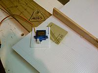 Name: IMG-20121026-00531.jpg Views: 155 Size: 43.4 KB Description: Sink the servo into 3mm corro....tight fit.