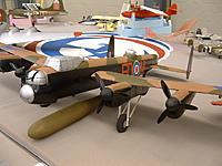 """Name: DSCF0481.jpg Views: 93 Size: 139.6 KB Description: 8-foot Lancaster with """"tallboy"""" bunker-buster"""