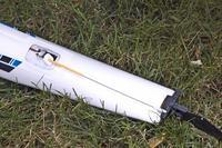Name: water rudder servo.jpg Views: 458 Size: 147.1 KB Description: Monokote trim sheet used here to help waterproof water rudder servo.