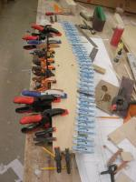 Name: DSC08893.jpg Views: 277 Size: 90.5 KB Description: Skin glued on....you can never have enough clamps!
