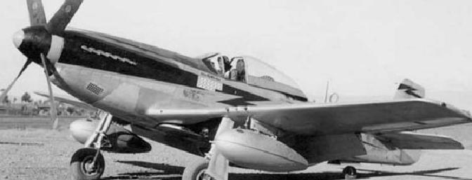 LtCol Edward McComas' P-51D.