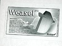 Name: Weasel 2.jpg Views: 31 Size: 189.0 KB Description: