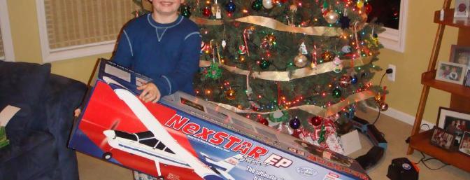 What kid would not want to find this box under the tree?