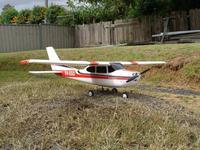 Name: EgoCessna182.jpg Views: 225 Size: 197.7 KB Description: Ego Cessna 182 ready for maiden