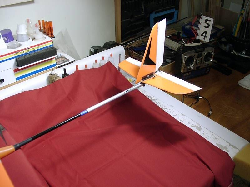 Name: 03-24-2009 03240043.jpg Views: 342 Size: 53.7 KB Description: Aluminum tube repair to T-Hawk boom section.