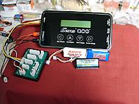 Name: 12030009.jpg Views: 60 Size: 206.7 KB Description: Gens Ace charger for 2S + Lipo's, for 2S powered Micro flyers.