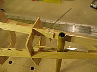 Name: staggerwing build 007.jpg Views: 189 Size: 48.2 KB Description: Doublers for the steerable tailwheel.