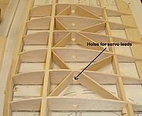 Name: 8 Holes for servo leads.jpg Views: 196 Size: 72.5 KB Description: