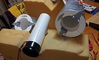 Name: 34 Fuselage - fan & thrust tube out.jpg Views: 86 Size: 134.9 KB Description: