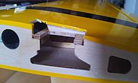 Name: 37 Aileron servo plate.jpg Views: 128 Size: 110.7 KB Description: