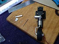 Name: 34 Steering Arm hard against the Trunion face.JPG Views: 29 Size: 571.4 KB Description: