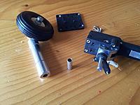 Name: 38 Nose gear - part assembled.jpg Views: 22 Size: 195.3 KB Description: