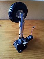 Name: 40 Nose gear - Retract assembled.jpg