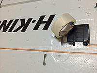 Name: 002 Blenderm taped wiring channels.JPG Views: 51 Size: 78.5 KB Description: