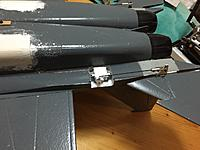 Name: 23 HStab linkage and test control horn.JPG Views: 47 Size: 543.7 KB Description: