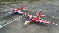 Name: HSD and Taft Viper jets.jpg