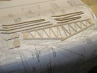 """Name: Photo_18.jpg Views: 362 Size: 99.1 KB Description: The spars for the top and bottom and center section filler blocks are laser cut 1/8"""" balsa"""