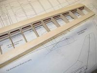 """Name: Photo_36.jpg Views: 346 Size: 87.2 KB Description: The trailing edge cap gets added next. It is made from a piece of 1/4"""" x 1/16"""" strip balsa."""
