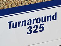 Name: Turnaround3- LW Lettering.jpg Views: 232 Size: 111.5 KB Description: Lettering cut from Parklite covering film using a US Cutter MH 361 Mk2 vinyl cutter.
