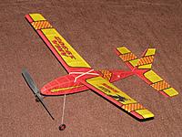 """Name: Jetco Hawk_1.jpg Views: 105 Size: 300.6 KB Description: Reproduction Jetco Hawk with ink jet printed tissue and a 3D printed 8"""" prop."""