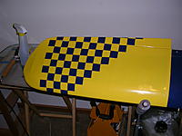 Name: S 108 Starting to checker board the wing.jpg