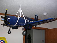 Name F4u 003 Finished Corsair Hanging From Ceiling Jpg Views 112 Size