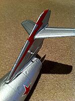 Name: Mig15 pushrods.jpg Views: 148 Size: 169.0 KB Description: coke can/ alu strip guides