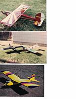 Name: RC21.jpg Views: 14 Size: 520.7 KB Description: Dad's taildragger Stik, got a lot out of this one.  The ugliest plane ever. My buddy Randy dug the fuse out of one trash can, wing from another. Wing was off one of the P/P canards. Flew the heck out of it - nothing to lose.  Trainer we built from scratch
